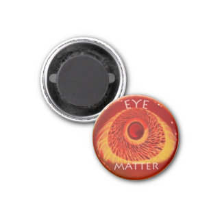 EYE MATTER 3 CM ROUND MAGNET