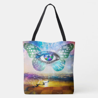 Eye Mind All-Over-Print Bag