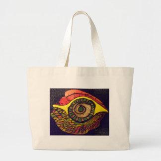 Eye of an Eagle Tote Bags