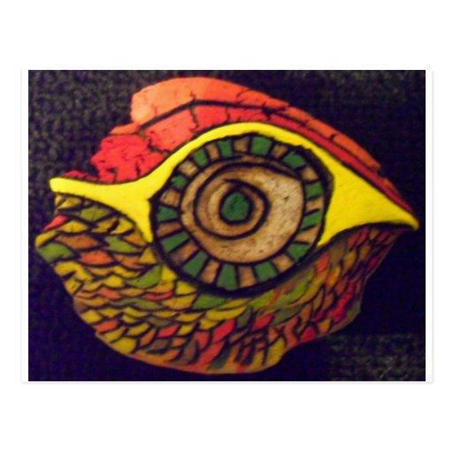 Eye of an Eagle Postcard