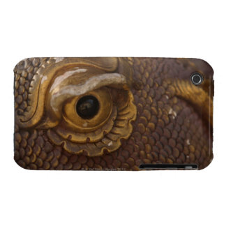 Eye of dragon statue Case-Mate iPhone 3 cases