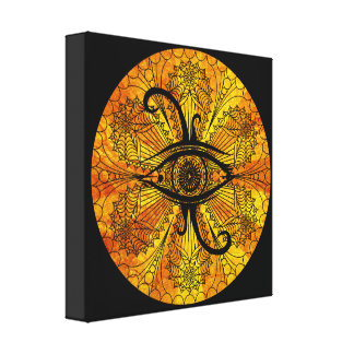 EYE OF GOD CANVAS PRINT