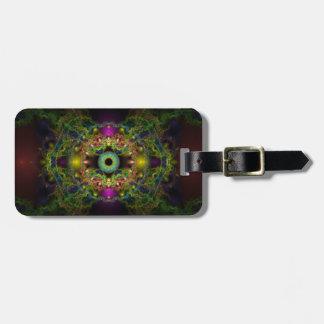 Eye of God - Vesica Piscis Luggage Tag