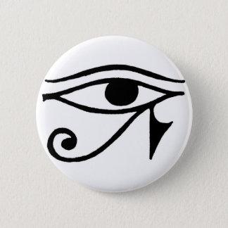 Eye of Horus 6 Cm Round Badge