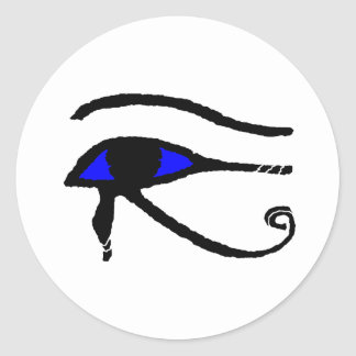 Eye_of_Horus Classic Round Sticker