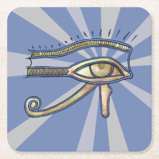 Eye of Horus coaster. Square Paper Coaster