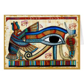 EYE OF HORUS Collection Card
