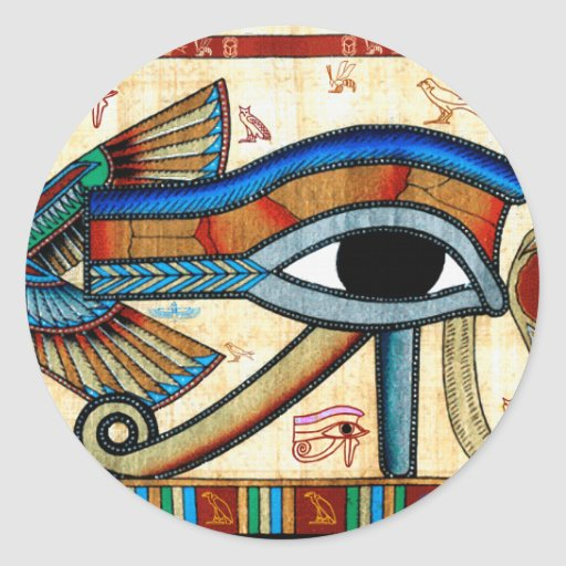 EYE OF HORUS Collection Stickers