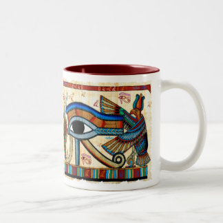 EYE OF HORUS Collection Two-Tone Coffee Mug