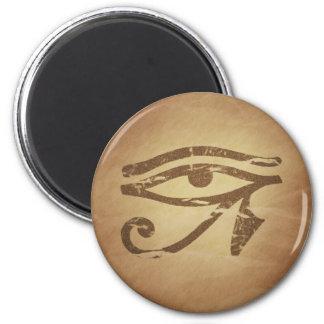 Eye of Horus Egyptian Magic Charms 6 Cm Round Magnet