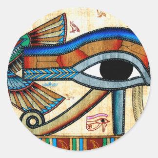 EYE OF HORUS Egyptian Stickers