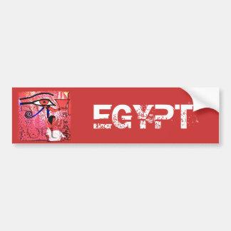 Eye of Horus greetings Car Bumper Sticker