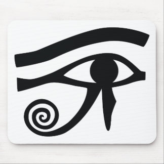 Eye of Horus Hieroglyphic Mouse Pad