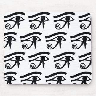 Eye of Horus Hieroglyphics Mousepads