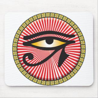 Eye of Horus Icon Mouse Mat