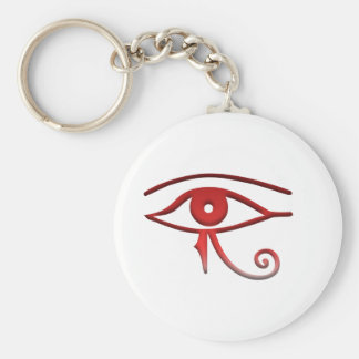 Eye of horus key ring