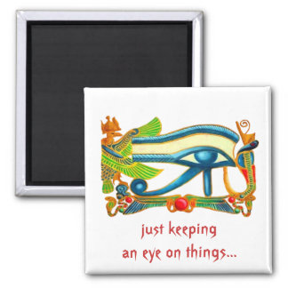 Eye of Horus Protection fridge magnet