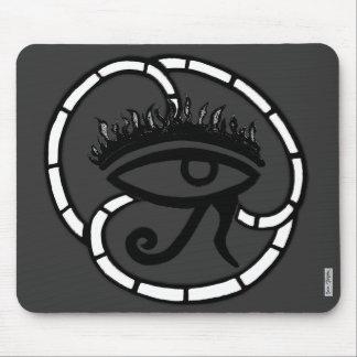 Eye of Horus Sillohette Mouse Pad