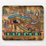 EYE OF HORUS, WADJET Egyptian Art Mousepad