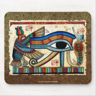 EYE OF HORUS WADJET Egyptian Mousepad