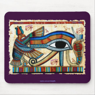 EYE OF HORUS, WADJET Egyptian Mousepad