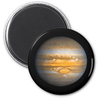Eye of Jupiter Planet Globe Round Magnet