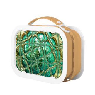 Eye of lizard lunch box