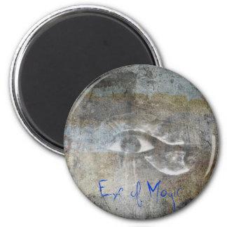 Eye of Magic 6 Cm Round Magnet
