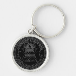 Eye of Providence 2 Key Ring