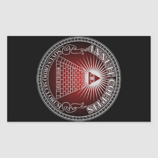 Eye of Providence 4 Rectangular Sticker