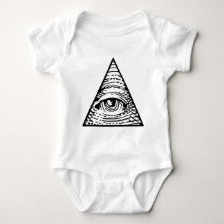 Eye of Providence Baby Bodysuit