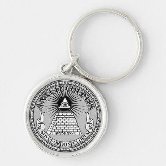 Eye of Providence Key Ring