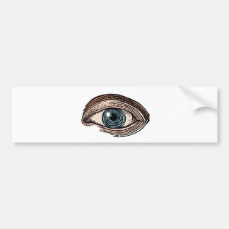 Eye of Providence (transparent) Bumper Sticker