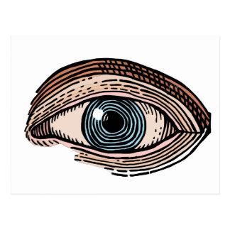 Eye of Providence (transparent) Postcard