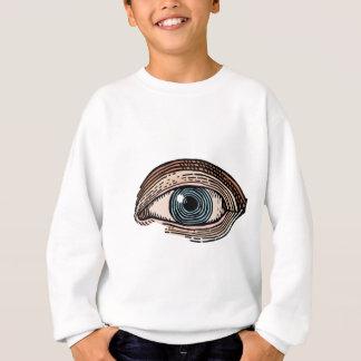 Eye of Providence (transparent) Sweatshirt