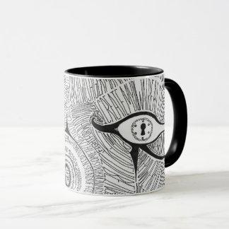 eye of raw mug
