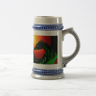 Eye of the Dragon Beer Stein
