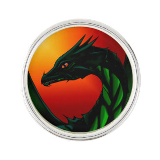 Eye of the Dragon Lapel Pin