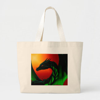 Eye of the Dragon Large Tote Bag