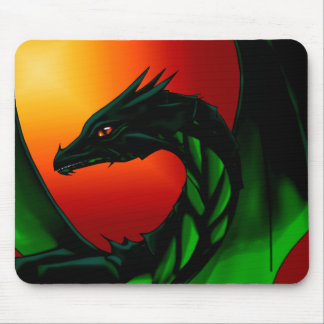 Eye of the Dragon Mouse Pad