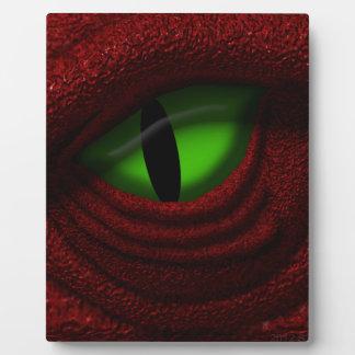 Eye of the Dragon Photo Plaque