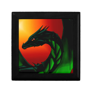 Eye of the Dragon Small Square Gift Box