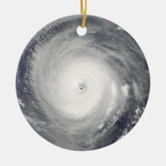 Eye of the Hurricane Ceramic Ornament