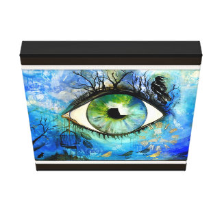 Eye of the Soul Canvas Print