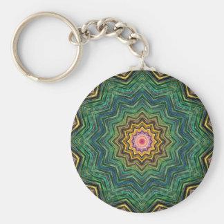 Eye of the Star Kaleidoscope Key Chain