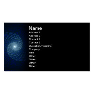 Eye of the Storm Abstract Fractal Art Business Cards