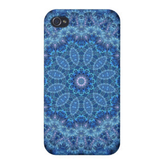 Eye of the Storm Mandala Cases For iPhone 4