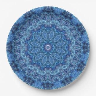 Eye of the Storm Mandala Paper Plate