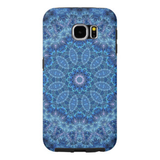 Eye of the Storm Mandala Samsung Galaxy S6 Cases