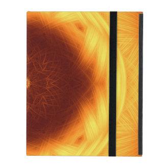 Eye of the Sun Mandala iPad Covers